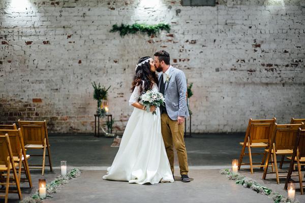Caribbean Boho Wedding Inspiration: Earthy Industrial Bohemian Wedding Inspiration